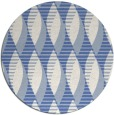 rug #587281   round blue circles rug