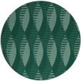 rug #587297   round blue-green graphic rug