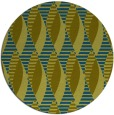 rug #587301 | round green circles rug