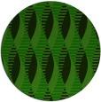 rug #587309 | round green circles rug