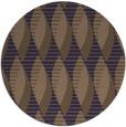 rug #587349   round blue-violet retro rug