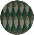 rug #587361 | round brown rug
