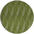 rug #587365 | round green circles rug