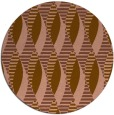 rug #587385 | round mid-brown popular rug