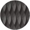 rug #587389 | round mid-brown retro rug