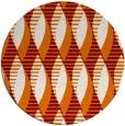 rug #587435   round retro rug