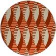 rug #587437 | round beige circles rug