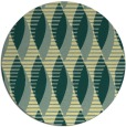 rug #587445 | round yellow circles rug