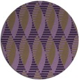 rug #587473 | round purple retro rug
