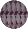 rug #587477 | round purple rug