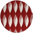 rug #587489   round red circles rug