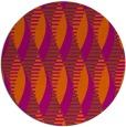 rug #587505   round red-orange circles rug