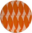 rug #587509 | round red-orange circles rug
