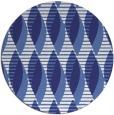 rug #587521 | round blue circles rug