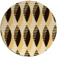 rug #587537   round brown retro rug