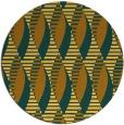 rug #587545 | round light-orange rug