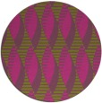 rug #587569 | round light-green circles rug