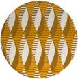 rug #587577 | round light-orange circles rug