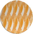 rug #587585 | round light-orange graphic rug
