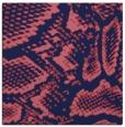 rug #588037 | square blue-violet animal rug