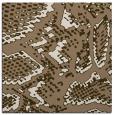rug #588097 | square beige animal rug