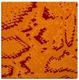 rug #588133 | square red-orange animal rug