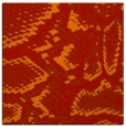 rug #588189 | square orange animal rug