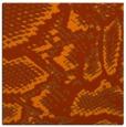 rug #588201 | square red-orange animal rug