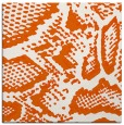 rug #588213 | square red-orange animal rug