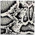 rug #588217   square black animal rug
