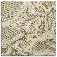 rug #588237 | square yellow animal rug