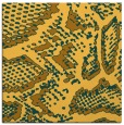 rug #588249 | square light-orange animal rug
