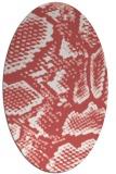 rug #588519 | oval animal rug