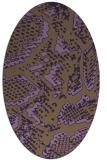 rug #588532 | oval animal rug