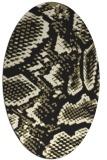 rug #588605   oval black popular rug