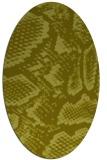 rug #588617 | oval light-green rug