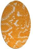 rug #588644 | oval animal rug