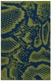rug #588685    green animal rug