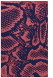 rug #588741 |  blue-violet animal rug
