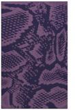 rug #588745 |  blue-violet animal rug