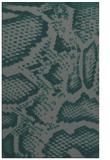 rug #588777 |  blue-green animal rug