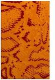 rug #588837 |  orange animal rug