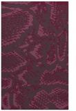 rug #588873 |  purple animal rug