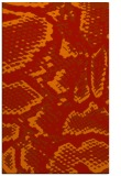 rug #588893 |  orange animal rug