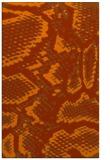 rug #588905 |  red-orange animal rug