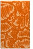rug #588909    red-orange animal rug