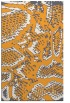 rug #588997 |  light-orange animal rug