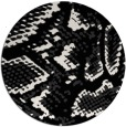 rug #589005 | round white animal rug