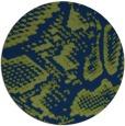 rug #589037   round blue animal rug