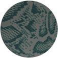 rug #589129   round green animal rug